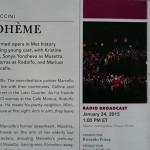 Брошура Метрополитън опера