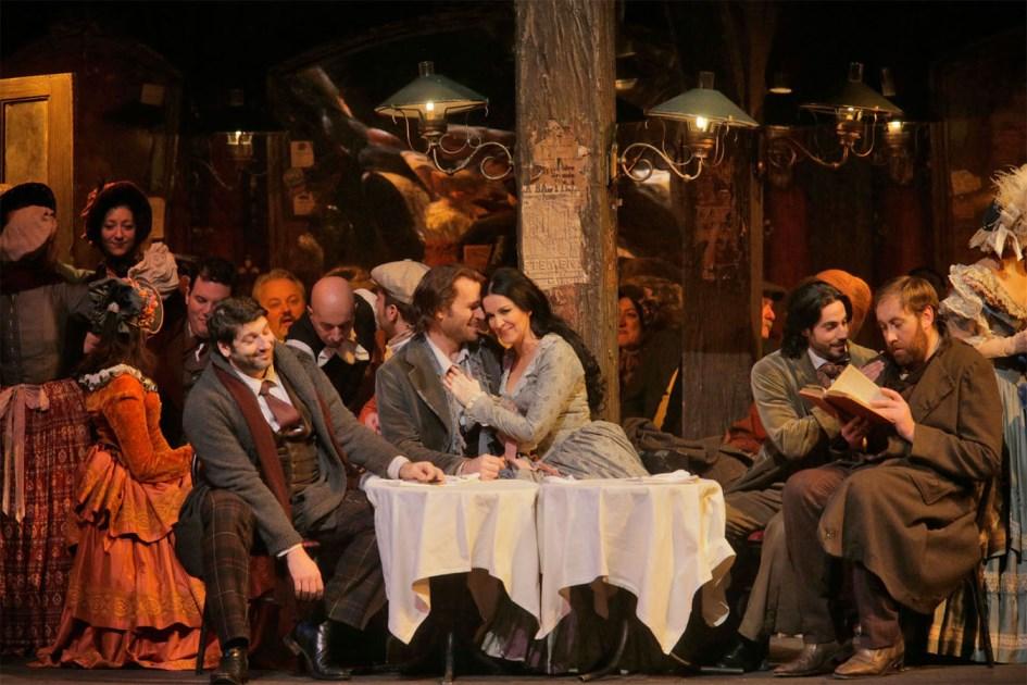 Бохеми в Метрополитън опера