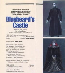 Замъкът на херцога Синята брада