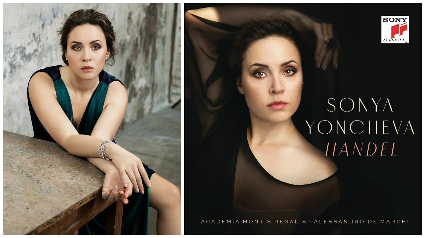 Соня Йончева, албум Хендел