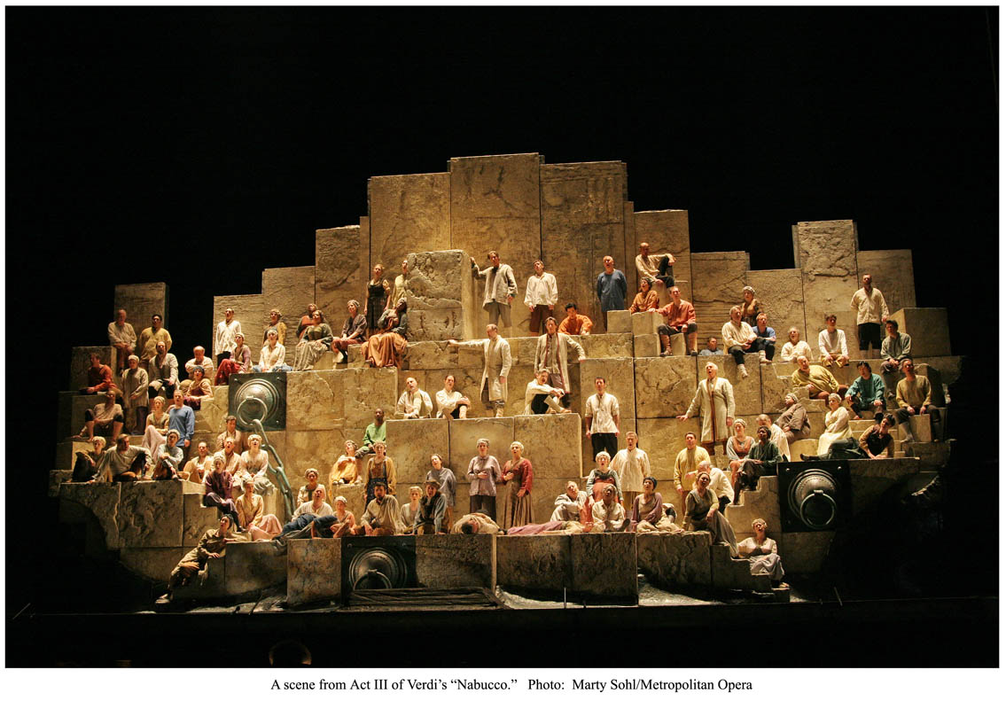 Nabucco at the Met